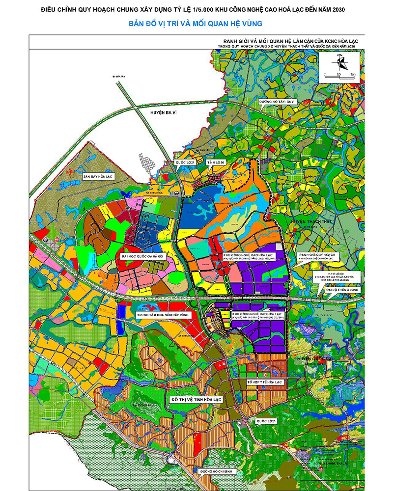 Bản đồ vị trí và mỗi quan hệ vùng