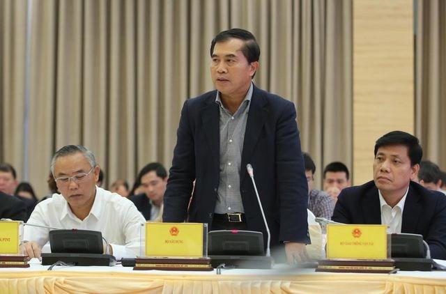 Ông Lê Quang Hùng – Thứ trưởng Bộ Xây dựng (ảnh: Mạnh Thắng)