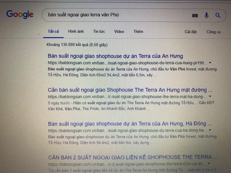 kết quả tìm kiếm dễ dàng trong ít giây về từ khoá