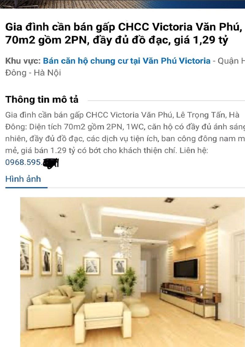 Giá chào bán căn hộ tại victoria chỉ với 18,5tr/1m2 và chủ nhà không quên nhắc khách hàng giá đó có bớt cho người thiện trí.