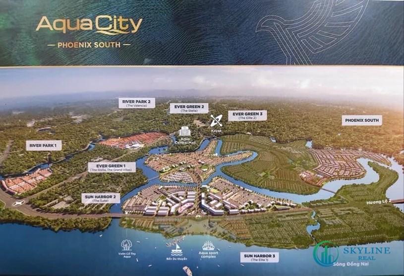 Việc có được đảo Phụng Hoàng giúp Aqua City nâng tổng diện tích lên gần 1.000 ha