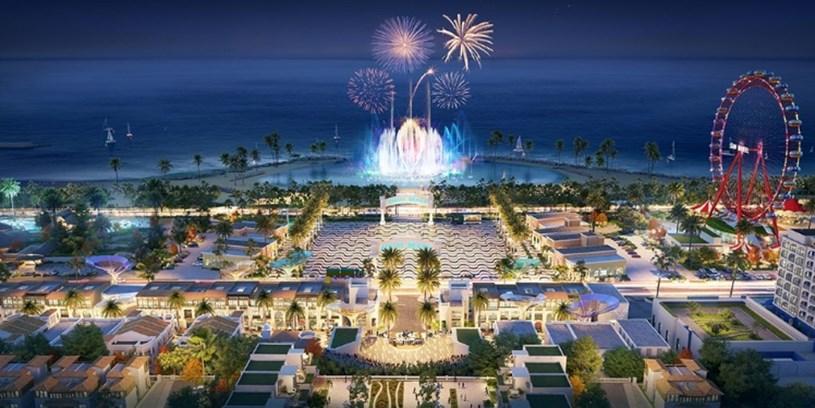 """Phối cảnh NovaWorld Phan Thiet - dự án được định hướng trở thành """"siêu thành phố biển - du lịch - sức khỏe""""."""