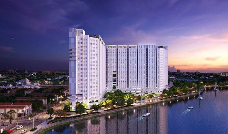 Phối cảnhDự án Saigon Intela Bình Chánh (TP.HCM)