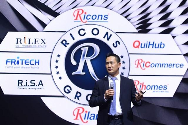 Ricons muốn xây dựng một hệ sinh thái đa ngành. Ảnh: Ricons Group