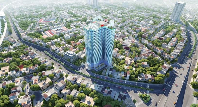 Phối cảnh dự án TNR The Nosta 90 đường Láng, phường Ngã Tư Sở, quận Đống Đa, Hà Nội