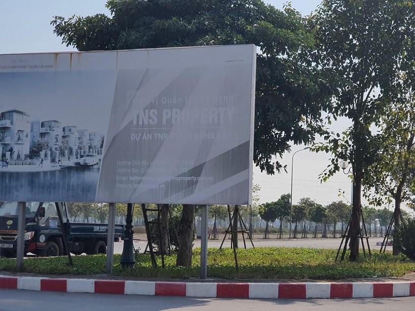 Nguyên nhân dự án bị tạm dừng là do có kiện cáo.