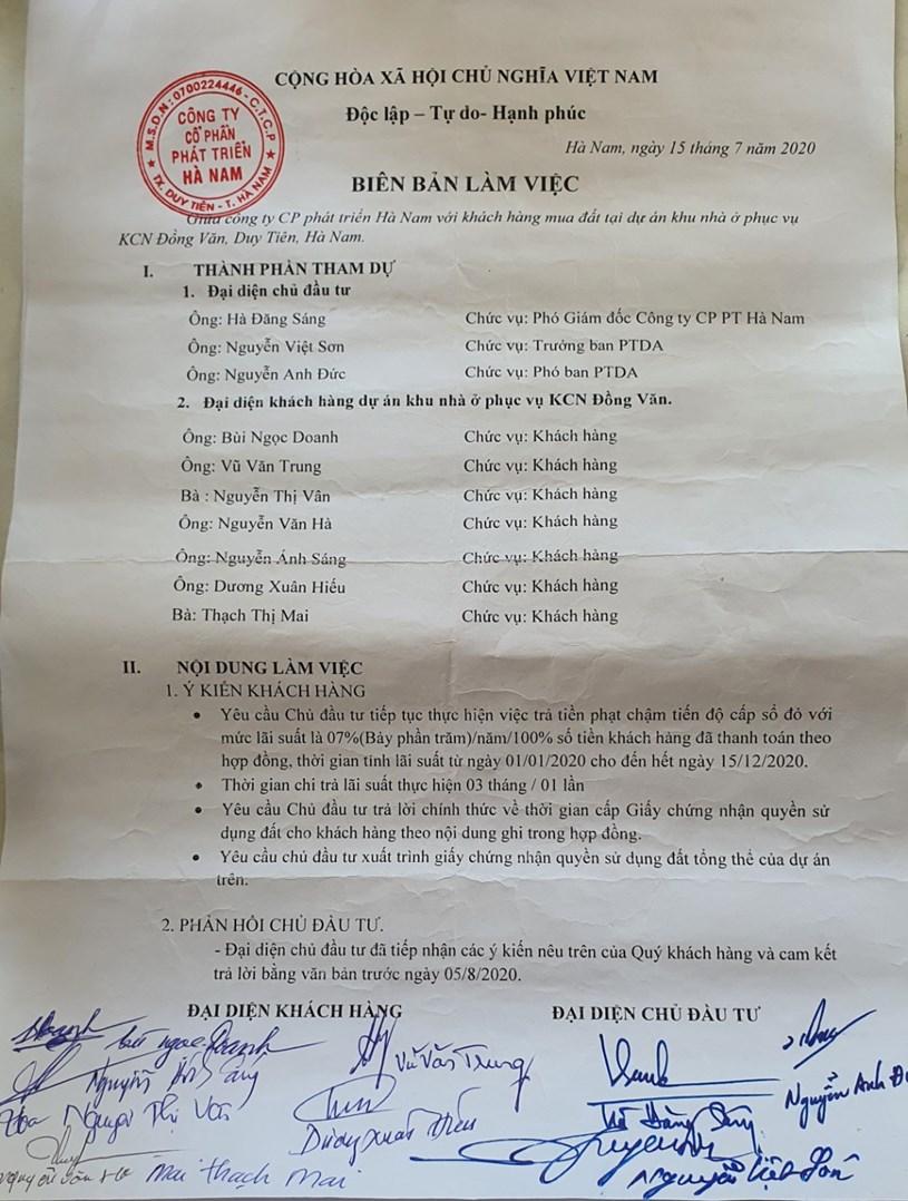 Dù đã cam kết bằng văn bản, nhưng phía tập đoàn TNI và TNR khẳng định sẽ không trả khoản tiền phạt năm 2020 này cho người dân.