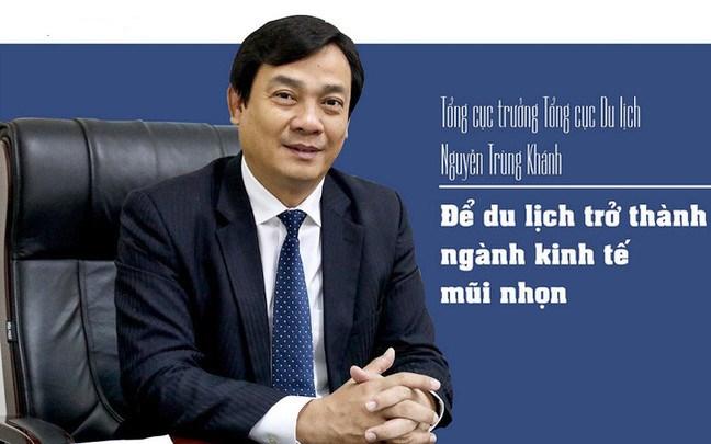 TS. Nguyễn Trùng Khánh - Tổng cục trưởng Tổng cục Du lịch - Bộ Văn hóa, Thể thao và Du lịch