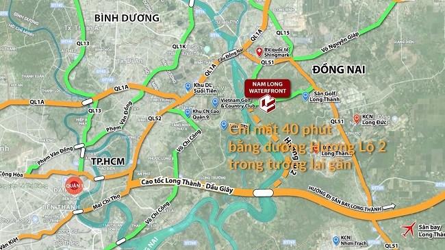 Hậu thâu tóm, Nam Long bất ngờ đổi tên dự án gần 10.000 tỷ Dong Nai Waterfront thành dự án Izumi City - Ảnh 2