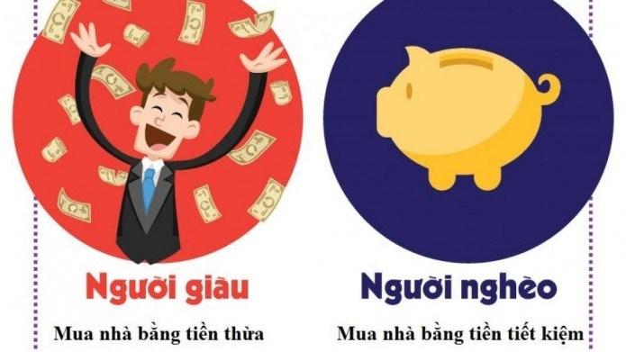 Cách mua nhà của người giàu và người nghèo khác nhau như thế nào? - Ảnh 1