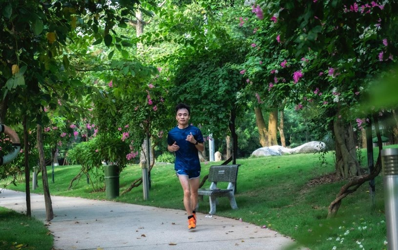 """Ecopark Marathon 2021 - Ngắm cung đường chạy giữa thiên nhiên """"siêu chất"""" trước giờ G - Ảnh 11"""