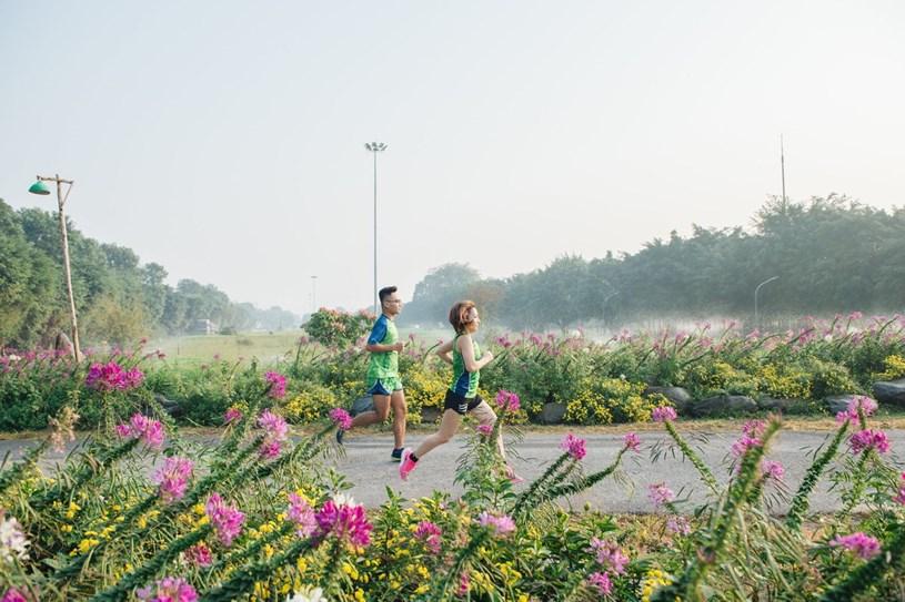 """Ecopark Marathon 2021 - Ngắm cung đường chạy giữa thiên nhiên """"siêu chất"""" trước giờ G - Ảnh 3"""