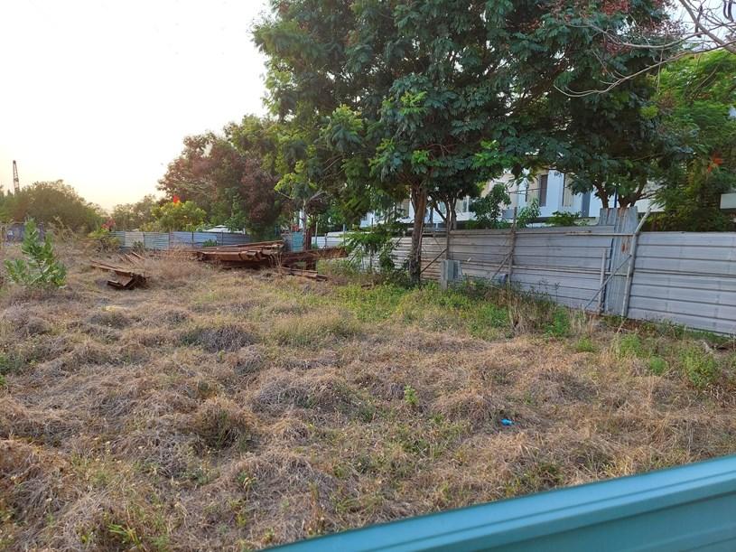 Sau 5 năm trạm xử lý nước thải của Melosa Garden chỉ là bãi cỏ hoang. Ảnh: Doanh nghiệp Việt Nam.