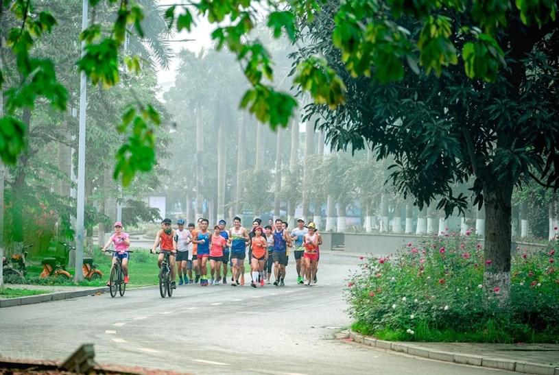 """Ecopark Marathon 2021 - Ngắm cung đường chạy giữa thiên nhiên """"siêu chất"""" trước giờ G - Ảnh 6"""