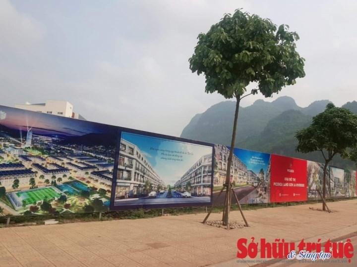 Hình ảnh Dự án Picenza Riverside Sơn La(chụp ngày 16/4/2021).