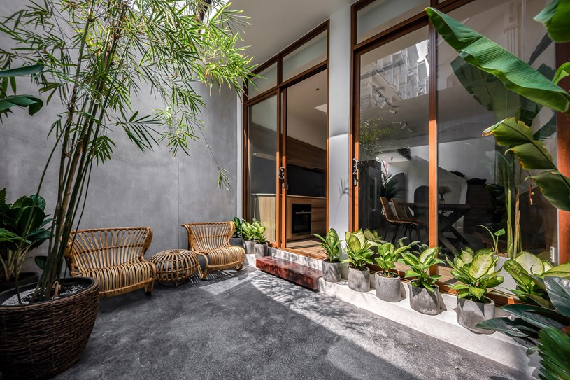 'Ngôi nhà cô đơn' của chàng trai độc thân tại TP HCM - Ảnh 7
