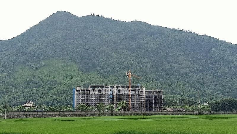 Vị trí của dự án có mối liên hệ mật thiết với môi trường tự nhiên.