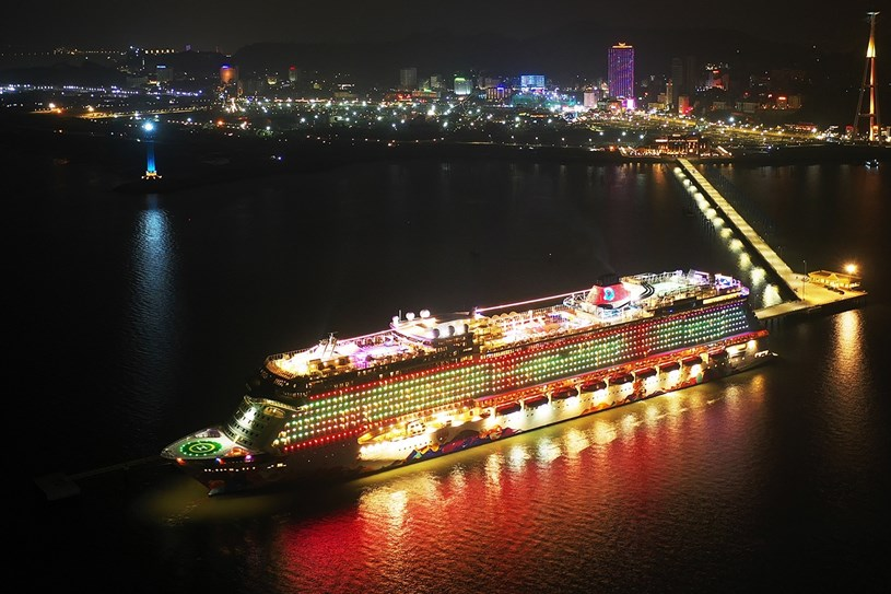 Dự án phức hợp Sun Grand Marina Town nằm ngay bên Cảng tàu khách Quốc tế Hạ Long