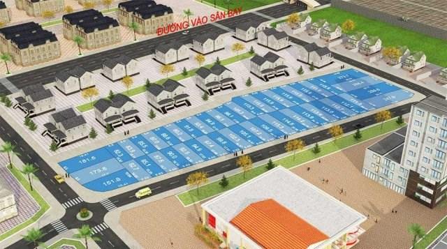 Sơ đồ phan lô dự án Happy Town 2 mà Công ty cổ phần bất động sản nhà đất Đồng Nai triển khai và giới thiệu đến khách hàng.