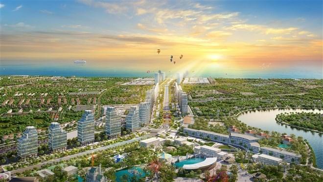 Sun Grand Boulevard sẽ là trung tâm giải trí - kinh doanh thương mại - nghỉ dưỡng tại Sầm Sơn.