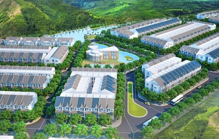 Phối cảnhdự án Khu dân cư Hưng Thịnh.