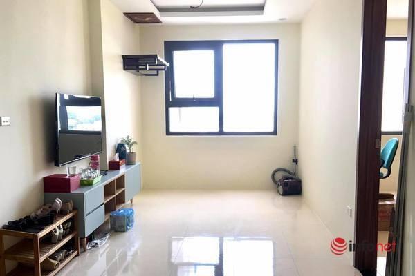 Căn hộ chung cư ở Hà Nội mà cô gái độc thân 32 tuổi vừa mới nhận nhà. (Ảnh: Nhân vật cung cấp)