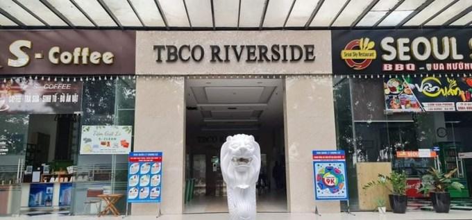 Chung cư TBCO Riverside, phường Quang Vinh, TP Thái Nguyên nơi Công ty đặt văn phòng.