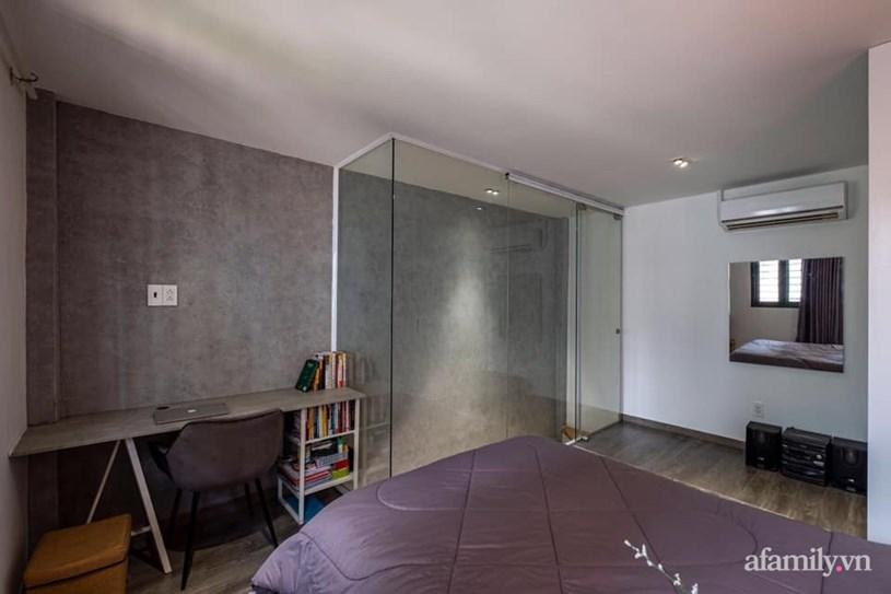Khó tin: Ngôi nhà chỉ 17m² nhưng đầy đủ chức năng, đẹp ấn tượng dành cho vợ chồng trẻ ở Sài Gòn - Ảnh 7
