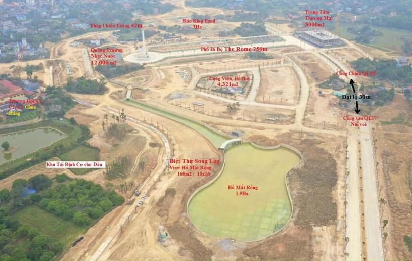 Từ khi bắt đầu xây dựng đến nay, Danko City liên tục vướng phải những vấn đề về pháp lý, chưa có giấy phép xây dựng