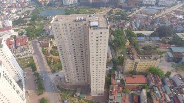 Công ty Intracom tự ý thay đổi chiều cao các tầng, thay đổi diện tích căn hộ, chuyển đổi công năng các tầng kỹ thuật, áp mái thành 33 căn hộ để bán.