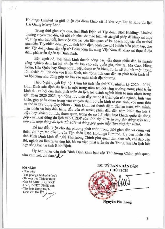 SJM Holdings - 'ông trùm' casino của Macau muốn đầu tư dự án casino 6 tỷ đô vào Hải Giang Merry Land của Tập đoàn Hưng Thịnh? - Ảnh 3