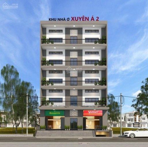 Dự án căn hộ mini Xuyên Á 2 do Công ty Cổ phần Đầu tư Địa ốc Đại Cát đang rao bán khi chưa đủ pháp lý.