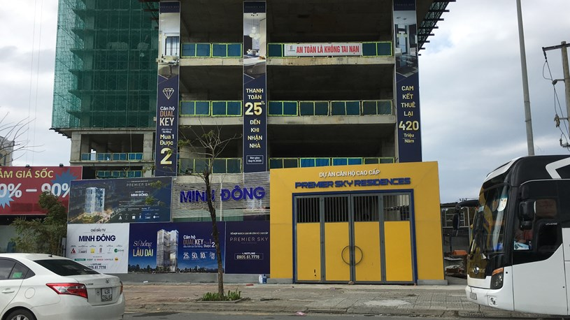 Dự án căn hộ cao cấp Premier Sky Resideces. (Ảnh: Chu Lai).