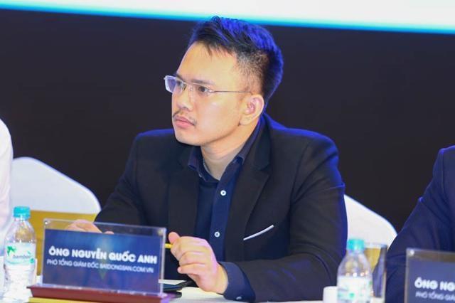 Ông Nguyễn Quốc Anh – Phó TGĐ Batdongsan.com.vn.