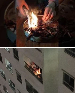Hãi hùng những vụ cháy ở chung cư do ý thức của người dân.