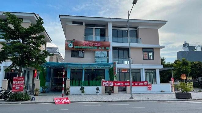 Khu đô thị Dương Nội, biệt thự trở thành quán ăn