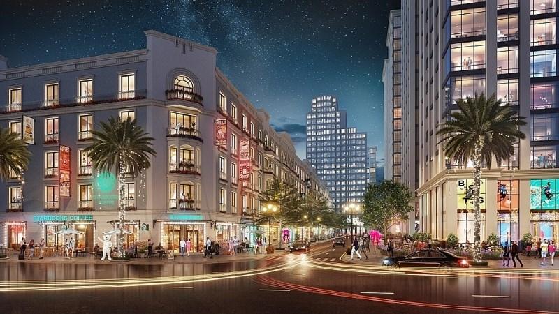 Hệ thống thương mại dịch vụ tại Sun Grand Boulevard sẽ thúc đẩy kinh tế đêm ở Sầm Sơn.