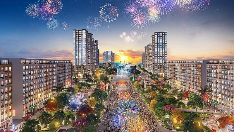 """Sun Grand Boulevard tạo ra """"cú hích"""" lớn trên thị trường địa ốc Sầm Sơn."""