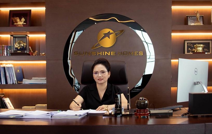 Bà Đỗ Thị Định, tân Tổng Giám đốc Sunshine Homes (Ảnh: Sunshine).