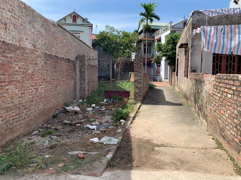 Một số khu vực trong xóm, thôn tại nhiều tỉnh còn quỹ đất với tài chính 400-500 triệu đồng.