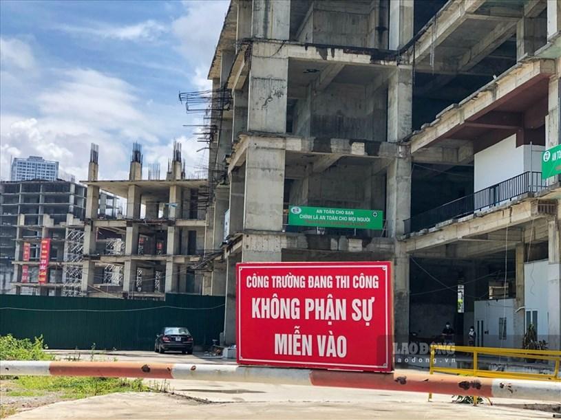 """Dự án được khởi công từ quý II/2008, theo hợp đồng ký với khách hàng, các tòa nhà CT1-101, CT1-102, CT1-103 sẽ bàn giao nhà cho khách hàng vào tháng 3/2012; các tòa nhà còn lại là CT1-104, CT2-105, CT3-106, CT3-107, CT4-108 bắt đầu bàn giao từ cuối năm 2012 và hoàn thiện vào quý III/2013. Tuy nhiên đến nay, các toà CT3-106, CT3-107, CT4-108 mới xây được 6 tầng thô và hiện đang """"nằm bất động""""."""
