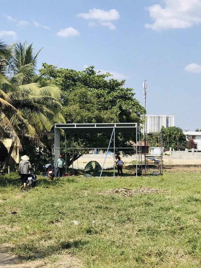 Dự án Happy Riverside do công ty Thiên Ân Phát làm chủ đầu tư đang là bãi đất trống.