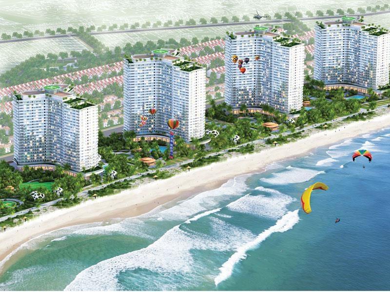 Phối cảnh dự ánKhu đô thị du lịch biển Phan Thiết