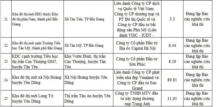 """Bắc Giang: Điểm danh loạt """"ông lớn"""" Capition, Vinaland, Hải Phát,...có dự án chưa đủ điều kiện mở bán - Ảnh 5"""
