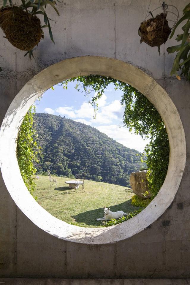 Ngôi nhà nằm giữa núi đồi, dùng điện mặt trời và uống nước suối - Ảnh 5