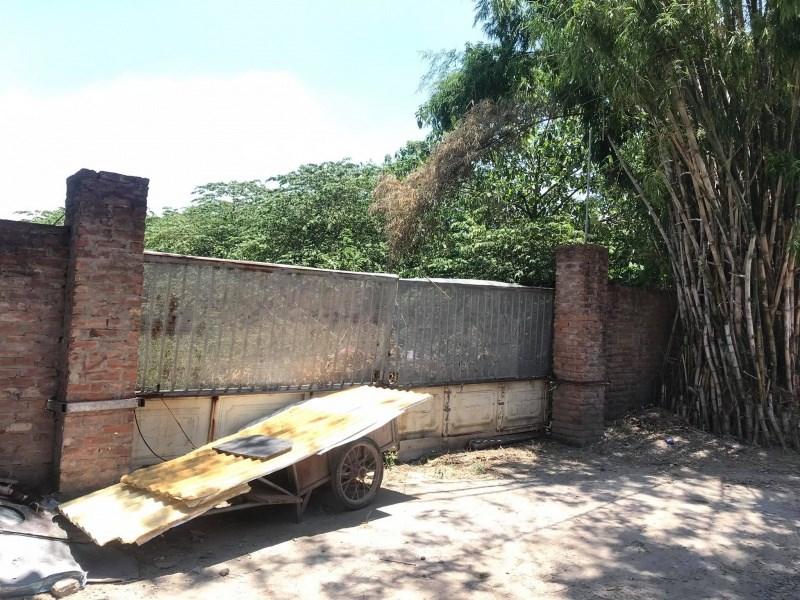 """Dự án""""Khu nhà ở xã hội Thượng Thanh và đấu nối hạ tầng khu vực""""nhiều năm vẫnlà bãi đất trống, bỏ hoang"""