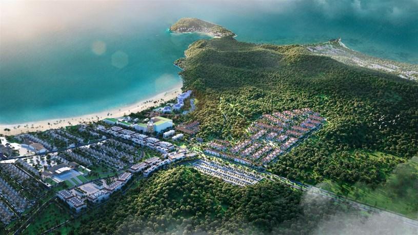 Sun Tropical Village là mảnh ghép mới của quần thể Bãi Kem, Nam Phú Quốc. (Ảnh phối cảnh)