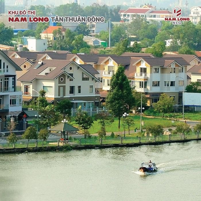 Biệt thự cao cấp Nam Phú - Khu đô thị Nam Long Tân Thuận Đông
