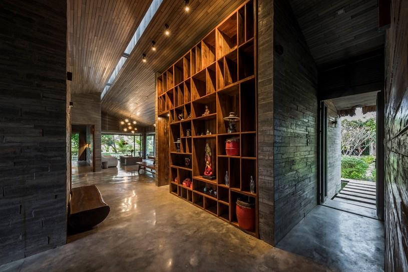 Sàn nhà sử dụng bê tông đá mài