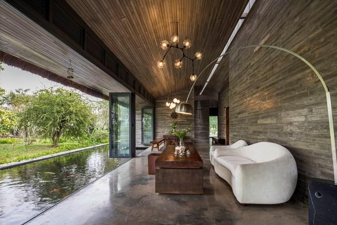 Giám đốc marketing về miền Tây xây biệt thự nhà vườn hệt như một ốc đảo riêng tư, có cả hồ cá Koi ngắm mà ghen tị - Ảnh 10